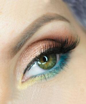 Цветовые контрасты в макияже глаз 3