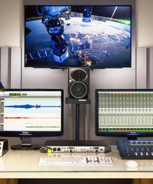Работа со звуком для видео