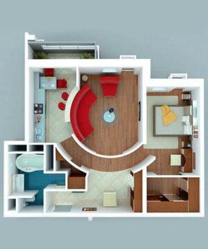 Курс Как сделать планировку квартиры