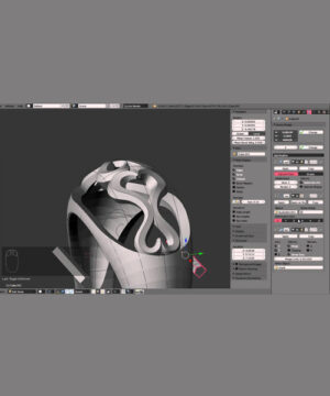 Моделирование ювелирных изделий Blender - видеокурс