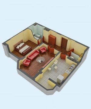 Курс Archicad дизайн-проект квартиры