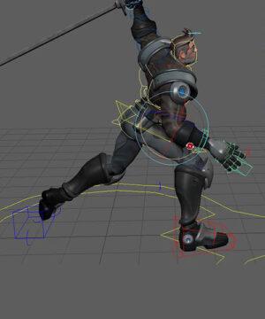 Курс Анимация боя для игр