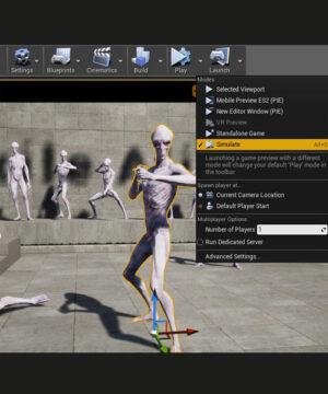 Курс Анимация персонажей в Unreal Engine 4