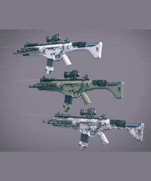 Курс Моделирование оружия для Unreal Engine 4