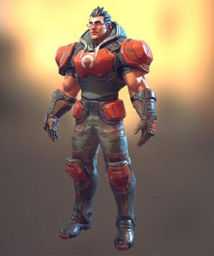 Разработка персонажа с PBR текстурами для Игр