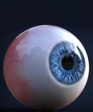 Создание реалистичного человеческого глаза