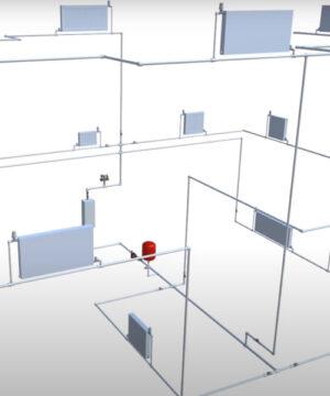 Конструктор системы отопления из полипропилена (софт)