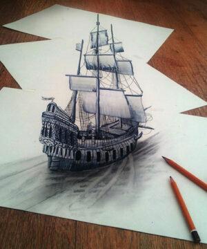 Техника рисунка карандашом
